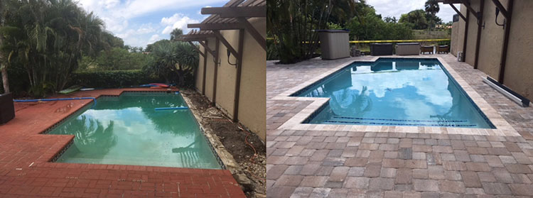 Swimming Pool Before & After 1