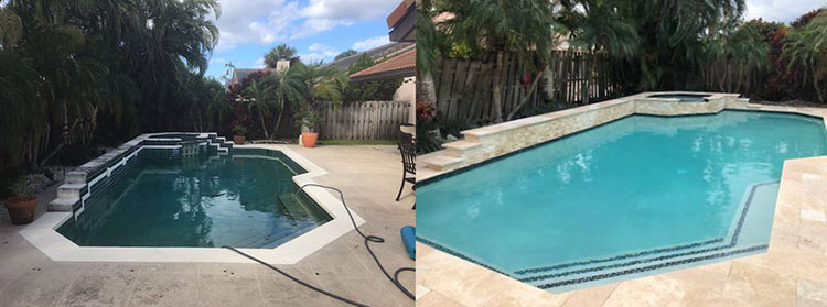 Swimming Pool Before & After 2