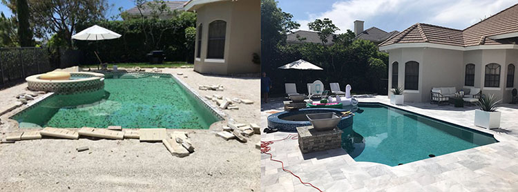 Swimming Pool Before & After 3