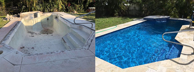 Swimming Pool Before & After 5