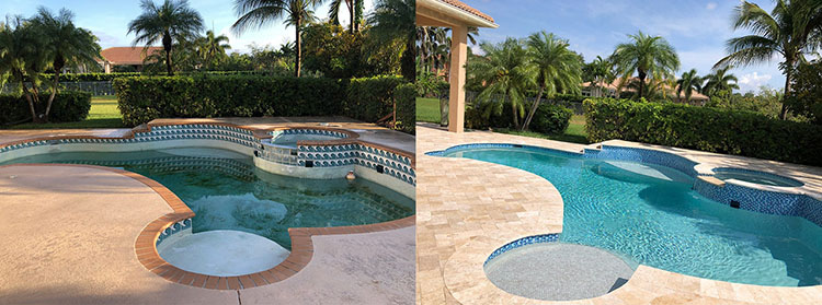 Swimming Pool Before & After 7